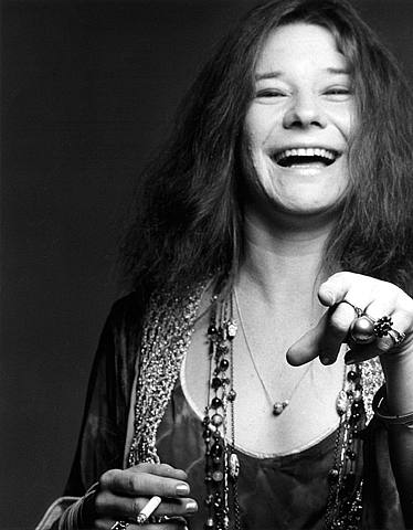 Janis Joplin 1960's by F. Scavullo