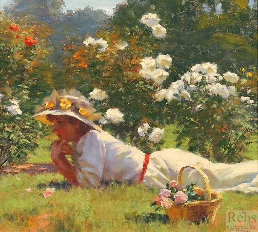 G.F. Harris, Daydreams and White Roses