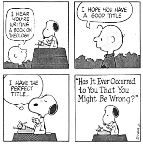 snoopytheology
