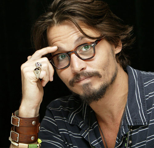 Johnny Depp Black And White. Beck Criticizes Johnny Depp: