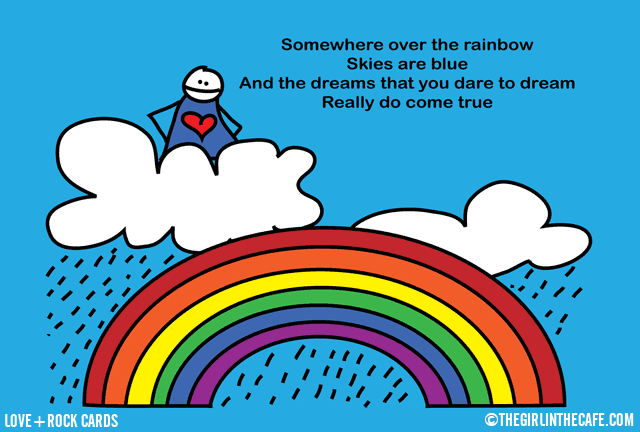 Somewhere Over The Rainbow Existential Ennui