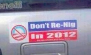 Obama hate sticker II (Facebook via HuffPost)