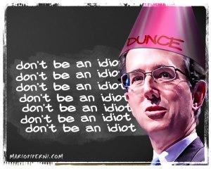 Santorum_dunce1