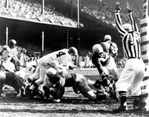 Tobin-Rote-1957-NFL-Championship-Game